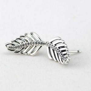 Pandora Leaf Earrings